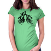 Bats in My Lungs Womens Fitted T-Shirt