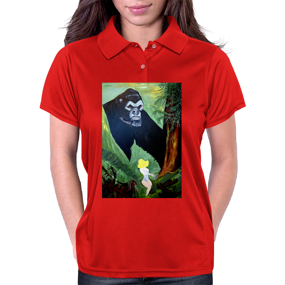 BEAUTY AND THE BEAST Womens Polo