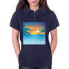 Beauty Sunset Beach Landscape Womens Polo
