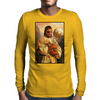 Big Boss Jesus - Metal Gear Mens Long Sleeve T-Shirt
