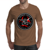 Biohazard Zombie Squad 3 Ring Patch outlined Mens T-Shirt