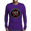 Biohazard Zombie Squad Always aim for the head Ring Patch outlined 2 Mens Long Sleeve T-Shirt