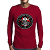 Biohazard Zombie Squad Fuck U Ring Patch outlined Mens Long Sleeve T-Shirt