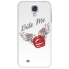 Bite me Vampkiss Wings Phone Case