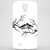 Black and White birds Phone Case