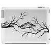 Black and White birds Tablet (horizontal)