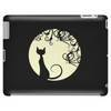Black cat in the moon Tablet (horizontal)