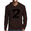 Black cat No.2 Mens Hoodie