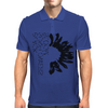 Black Sunflower Mens Polo