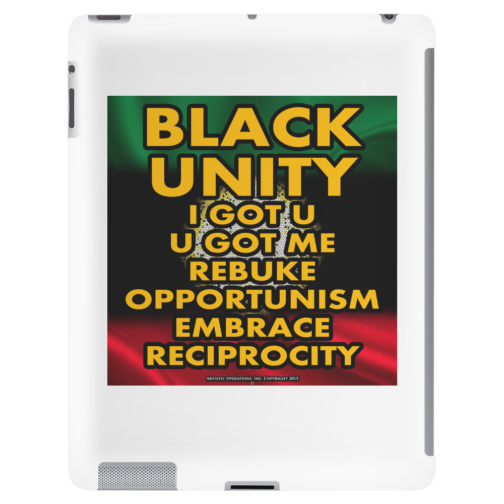 Black Unity (Atom of Life) Tablet (vertical)