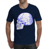 BLUE SKULL Mens T-Shirt