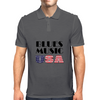 Blues Music USA Mens Polo