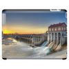 """RELEASE"" - March 2010 - Lake Overholser Dam Artistic Photo Tablet (horizontal)"