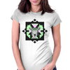 ::Space Deer:: Womens Fitted T-Shirt