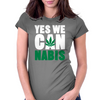 YES WE CAN nabis Womens Fitted T-Shirt