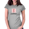 """You can't cut the throat of every cocksucker whose character it would improve. Womens Fitted T-Shirt"