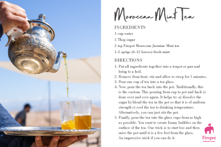 Moroccan Mint Tea recipe card