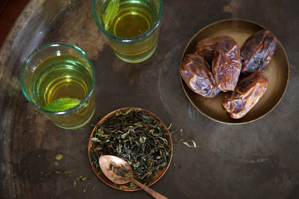 Moroccan Jasmine Mint Tea