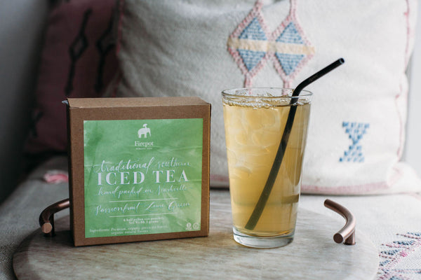 Passionfruit Lime Iced Tea