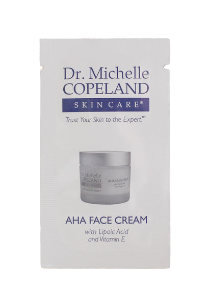 AHA Face Cream Sample