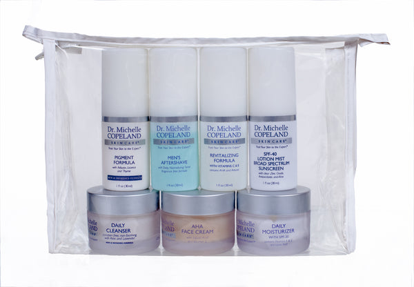Men's Skin Essentials Travel Kit (7 items)