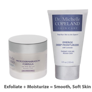 Microdermabrasion Formula + Emerge Deep Moisturizer with Lavender Duo
