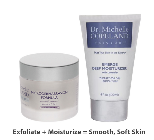 Microdermabrasion Formula + Emerge Deep Moisturizer with Lavender Duo 1