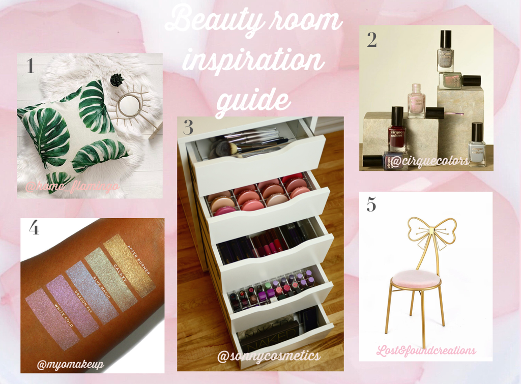 Beauty Room Inspirational Guide Round Up