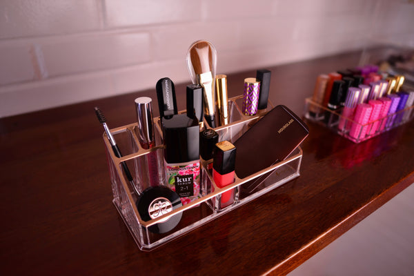 Keep Your Makeup Organized at Home, Office, School, Anywhere.
