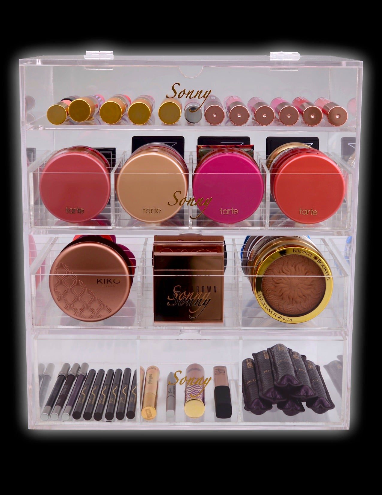 Alex Beauty Box designed to organize high end cosmetics