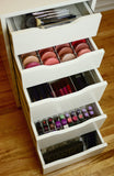 Ikea Alex Acrylic Drawer Organizer for Lipstick Holder Insert Divider 5 6 9 Pax