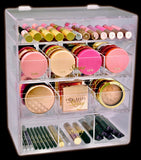 Best Makeup Organizer Acrylic Beauty Box Cosmetics Holder Vanity Original Impressions Ikea Alex Divider