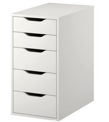HOT DISCOUNTS!!! Ikea Alex 5 drawer bundle! 5 Organizers