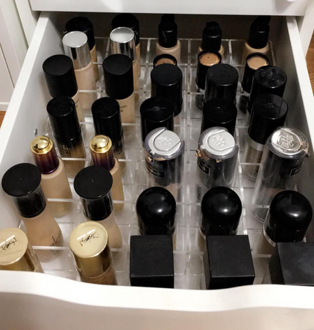 Acrylic Foundation Organizer
