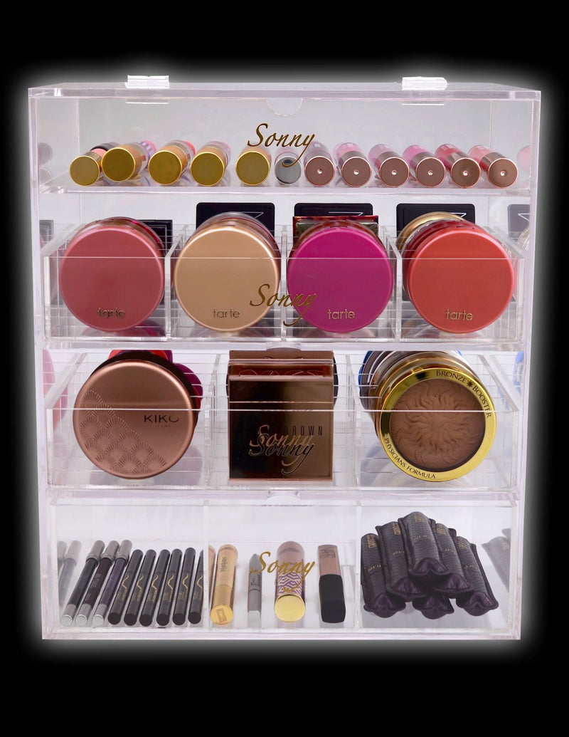 The Best Makeup Organizer Sonny Cosmetics Original Beauty Box Impressions Vanity Compact Holder Pax Alexa