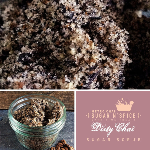 Sugar N' Spice - Dirty Chai Sugar Scrub
