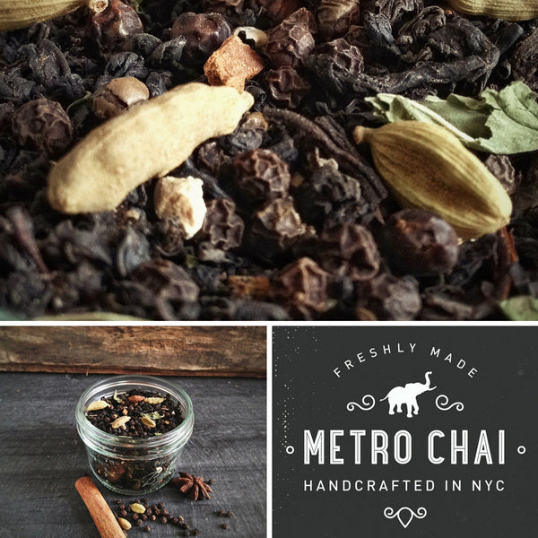 Metro Chai - Pepper Mill - TIN