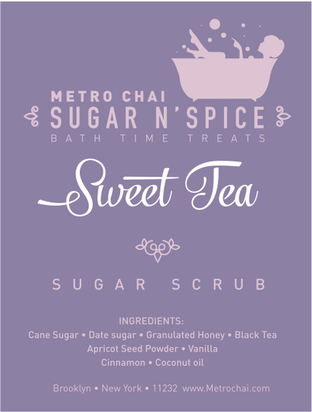 Sugar N' Spice - Sweet Tea Sugar Scrub