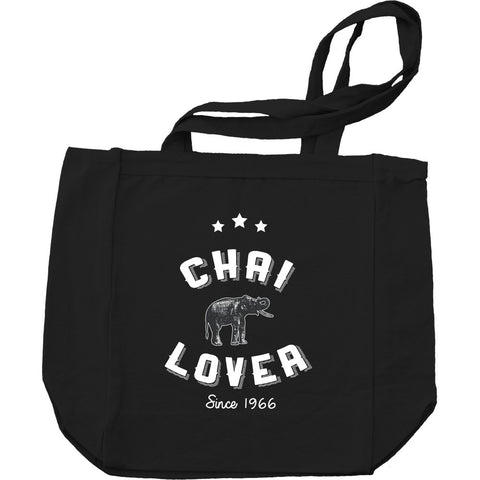 Chai Lover Tote BW