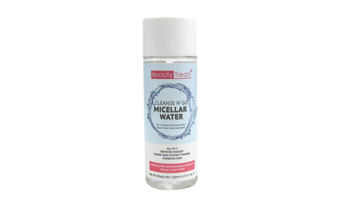 Beauty Treats Micellar Water facial cleanser ~ Eau micellaire 120 ml