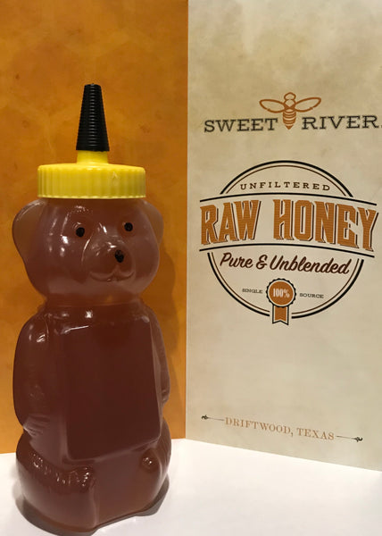 Sweet River Honey Premium Honey Bear 12 oz
