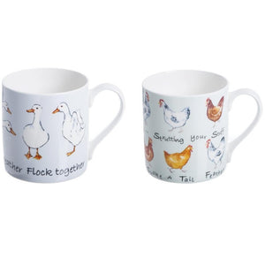 Price & Kensington 0043.009 Farmhouse Chic China Mug - Pkt 1