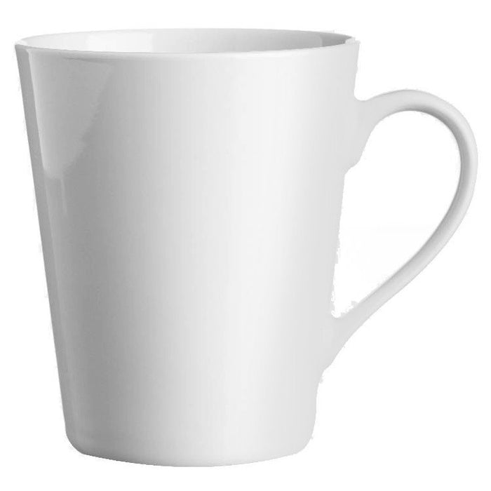 Price & Kensington 0059.409 Simplicity White Conical Mug