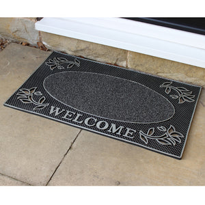 JVL 01-921 Welcome rectangular mat