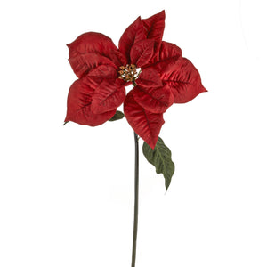 Artificial 11178564 Giant Poinsettia Red Length 63cm