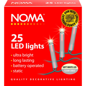 Noma 1205CSW 25 Soft White LED Lights