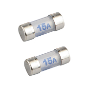Cartridge Fuse 15 Amp - Pack of 2
