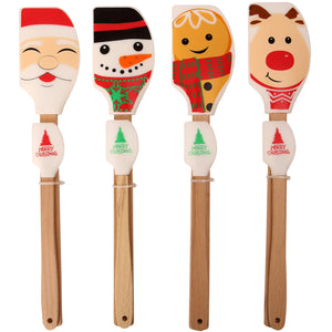 Dexam 16050340 Christmas Silicone Spatula Set of 2 - Various Designs