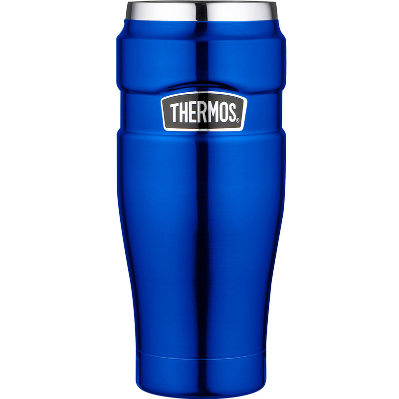Thermos 161032 Stainless King Blue 0.47Ltr Travel Tumbler