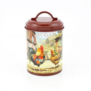Lesser & Pavey LP28785 Cockerel & Hen Sugar Canister / Jar